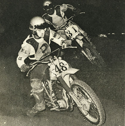 Bill Rubly and Dan Barnes before Rubly started losing his motor mounts. - Photos by Buzz.