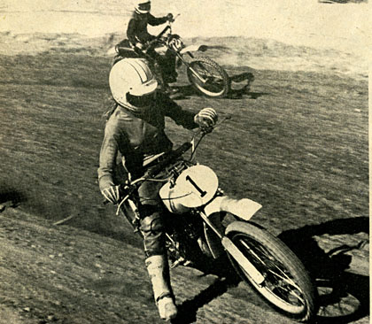 Janice Kline came out the number one Powder Puff at the Championships riding her C.H. Industries Honda in for the top honor.  Hatounian photo.